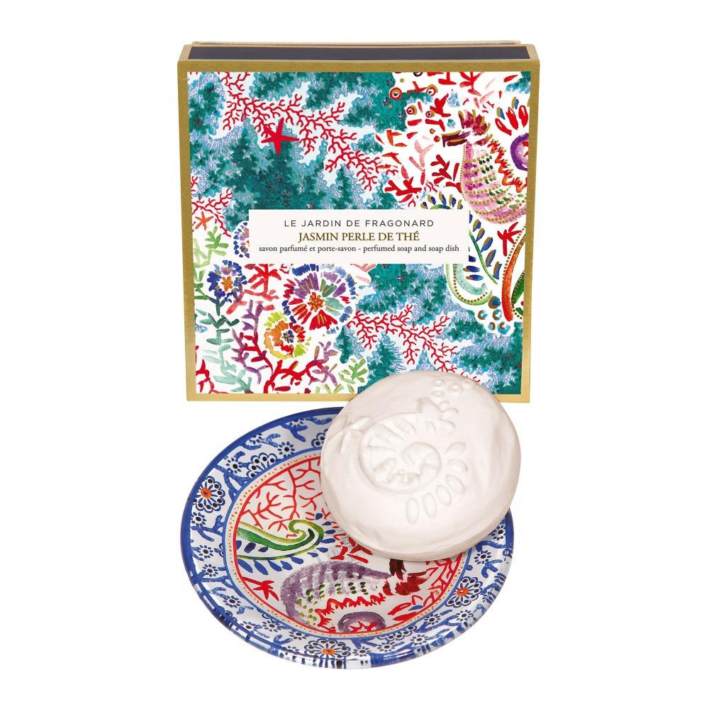 Fragonard Jasmin Soap & Soap Dish