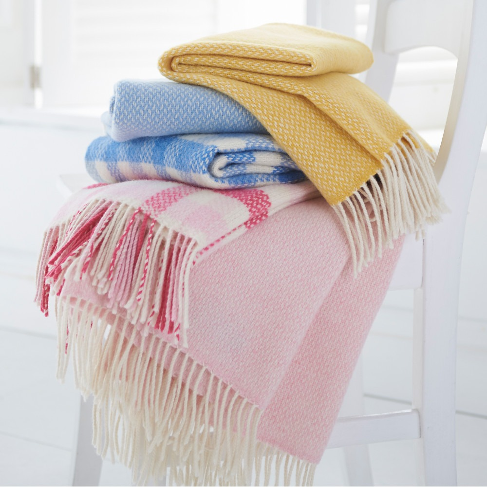 Merino & Cashmere Baby Blankets