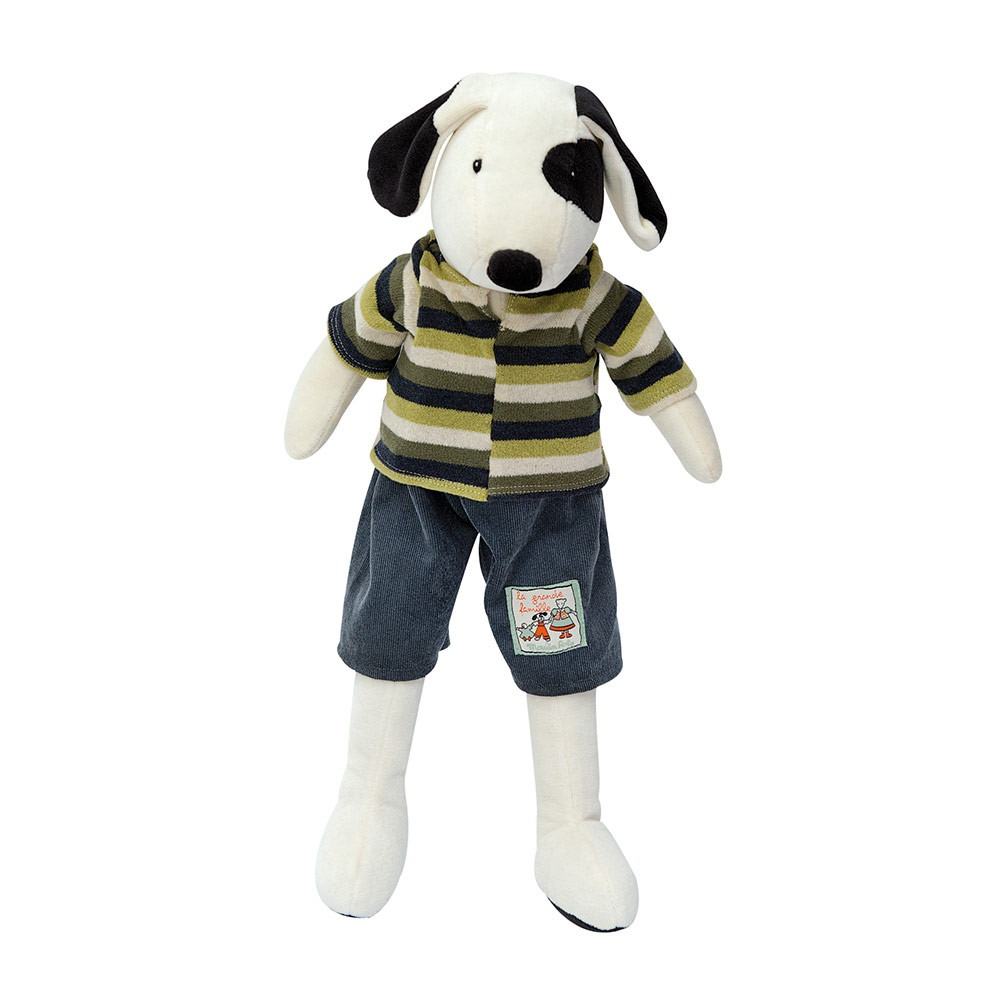 Moulin Roty Petit Famille Julius Dog Soft Toy