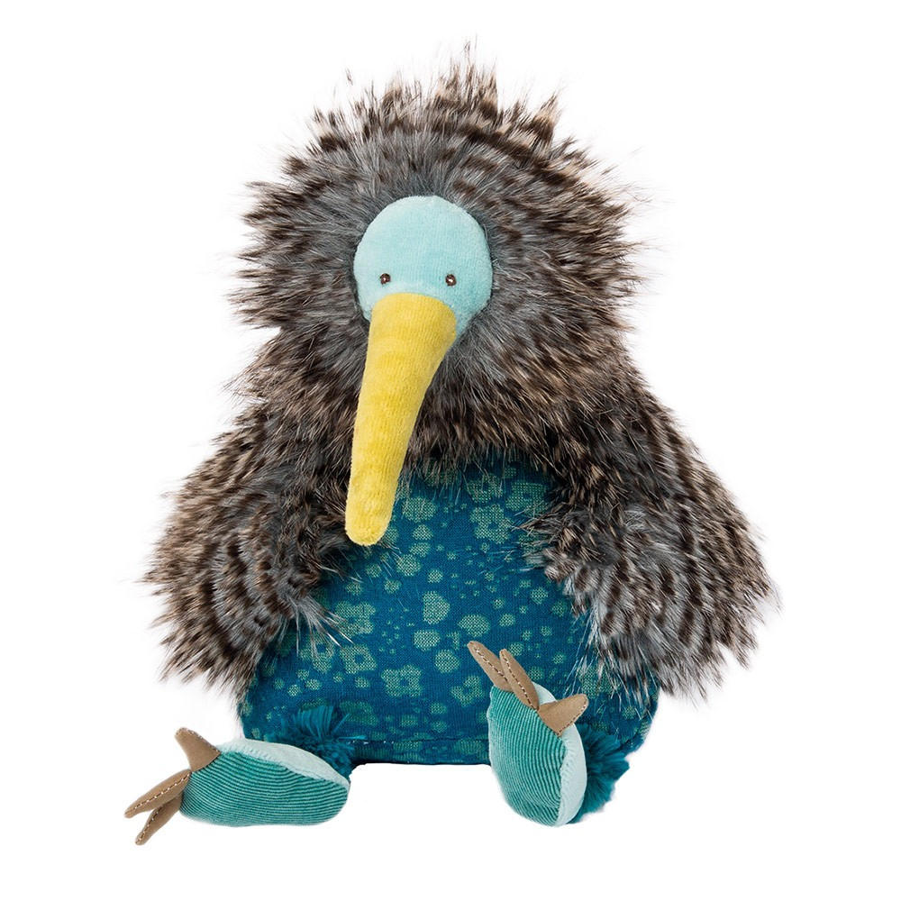 Moulin Roty Bazar Kiwi Bird Soft Toy