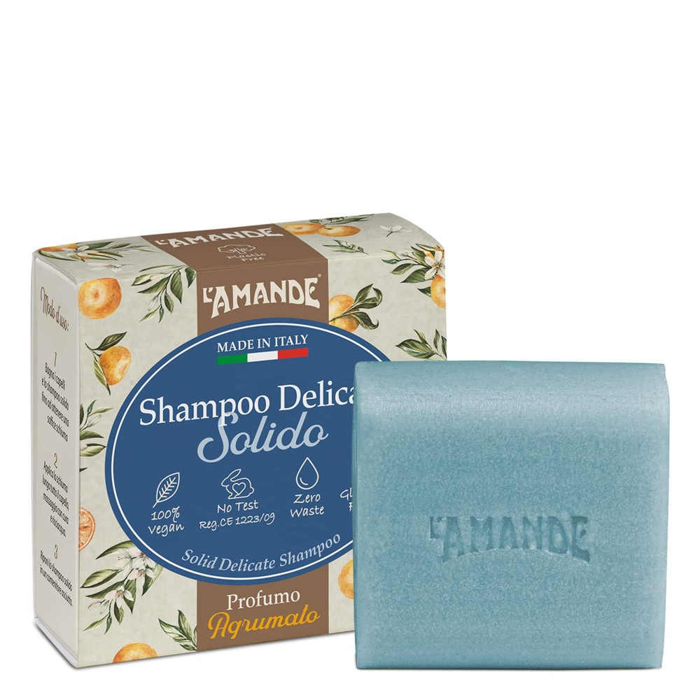 L'Amande Solid Shampoo