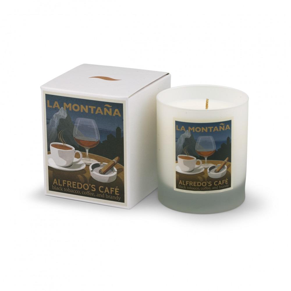 La Montaña Alfredo's Cafe Candle