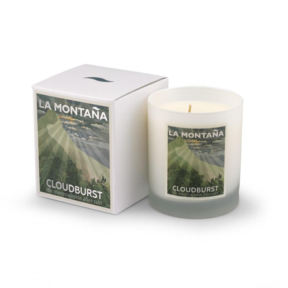 La Montaña Cloudburst Candle