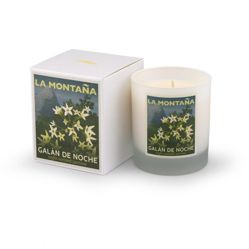 La Montaña Galan De Noche Candle