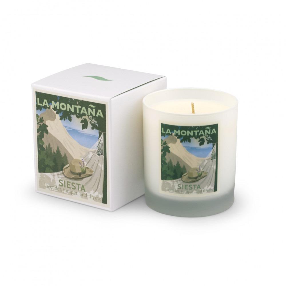 La Montaña Siesta Candle