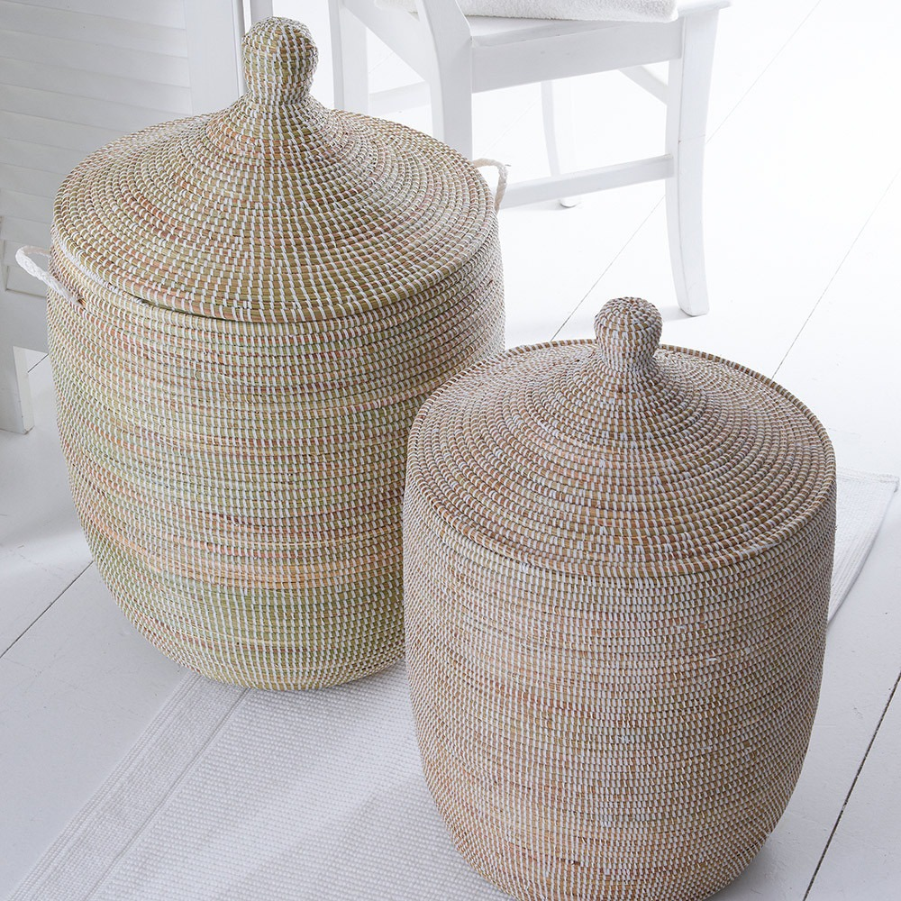 Hand Woven Ali Baba Laundry Baskets