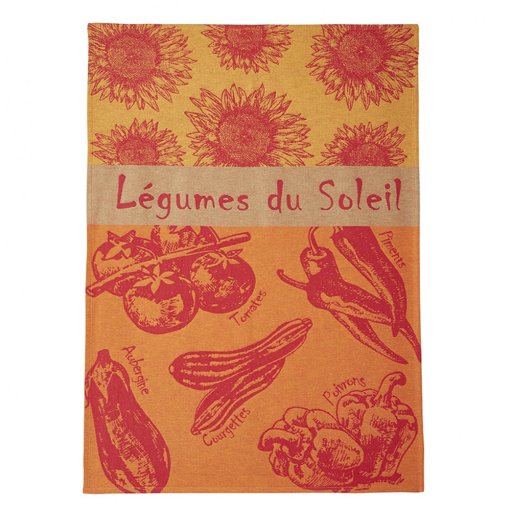 Tea Towel - Legumes D'ete