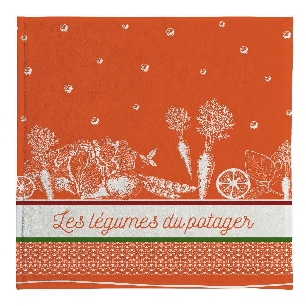 Terry Tea Towel - Legumes Du Potager
