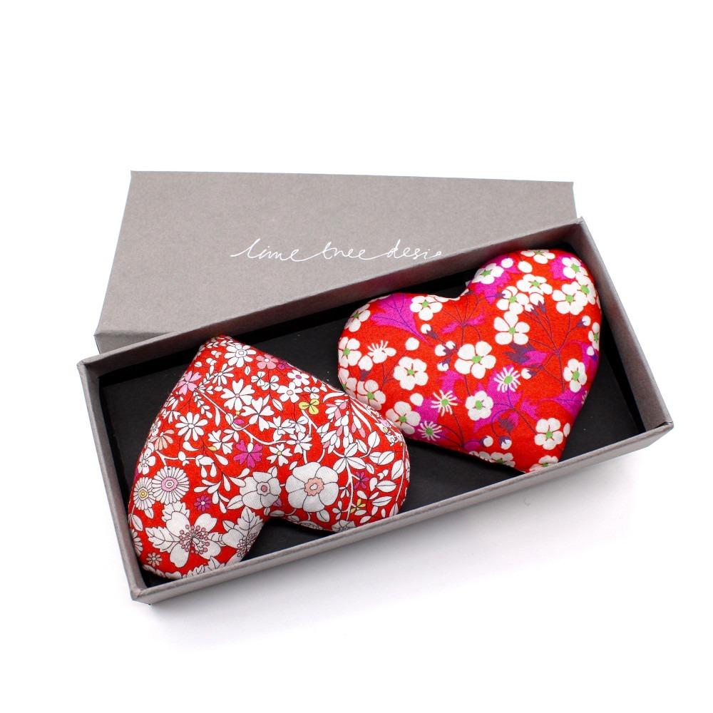 Boxed Lavender Brave Hearts