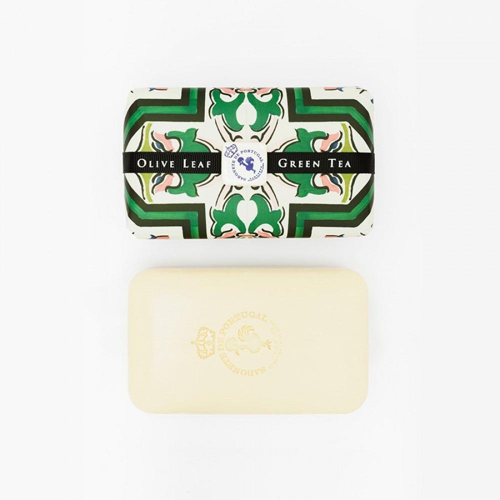 Olive Leaf And Green Tea Soap