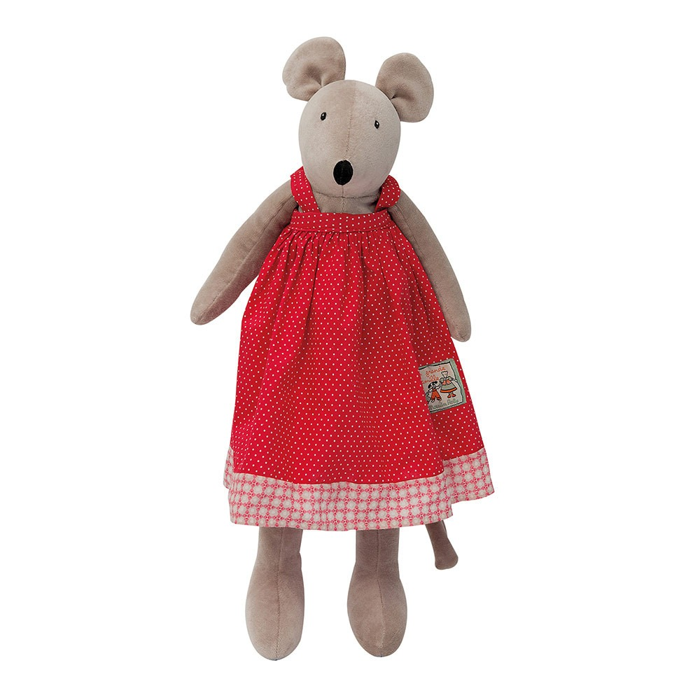 Moulin Roty Petit Famille Nini Mouse soft toy