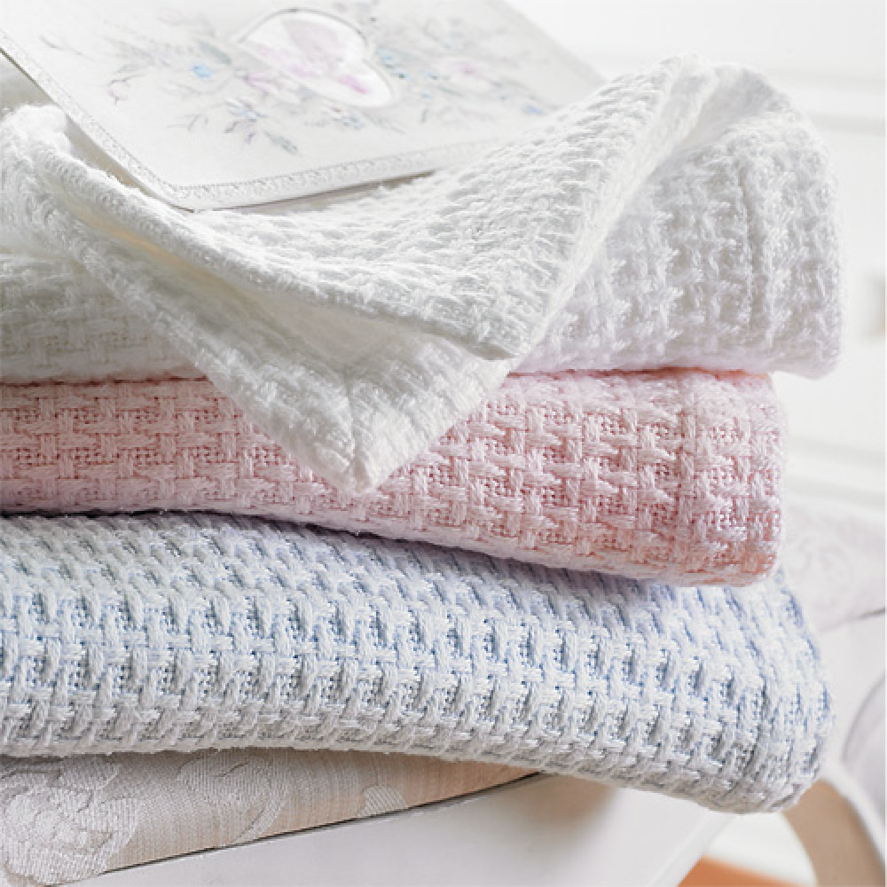 Baby Waffle Cotton Blankets