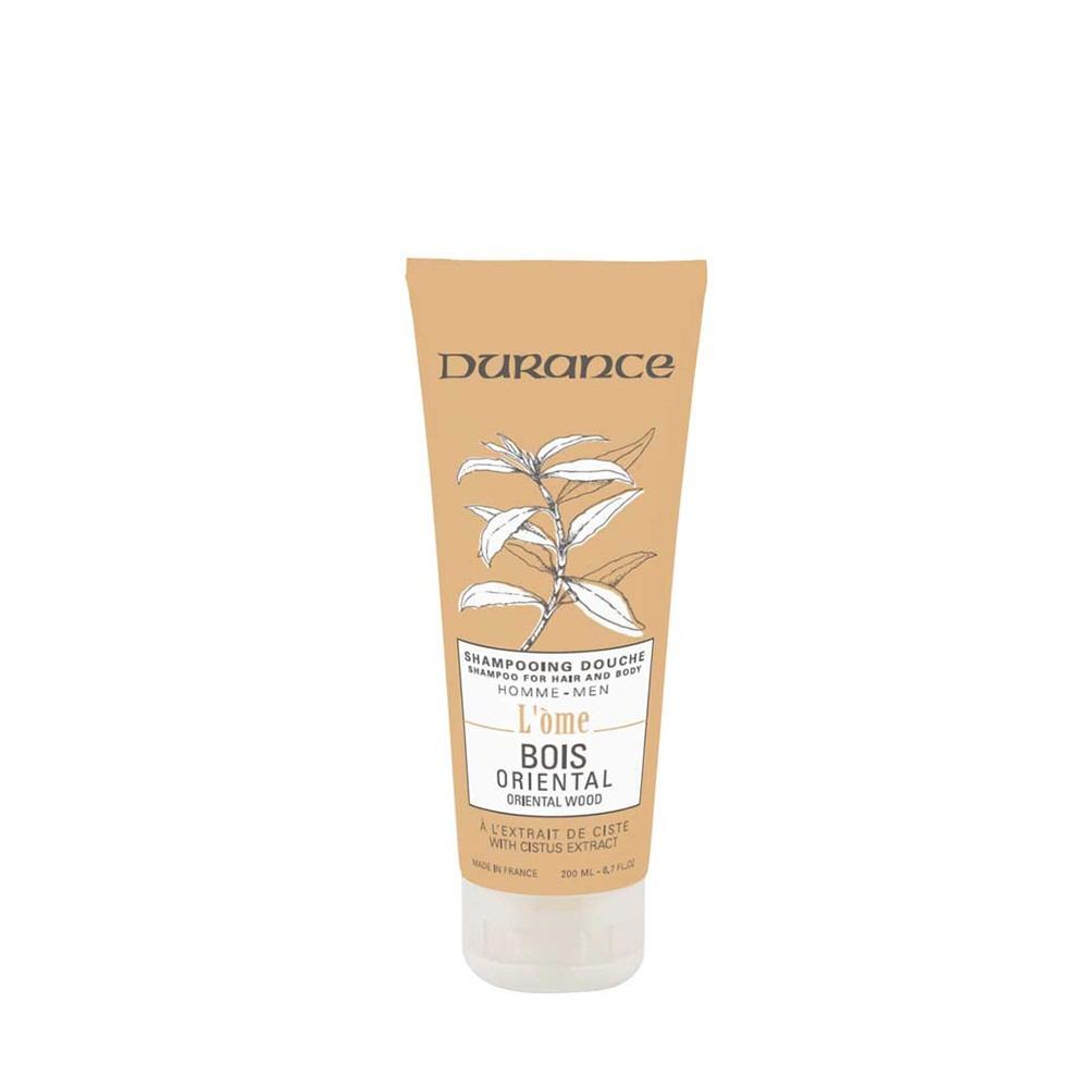 Durance Oriental Wood Hair & Body Shampoo 200ml
