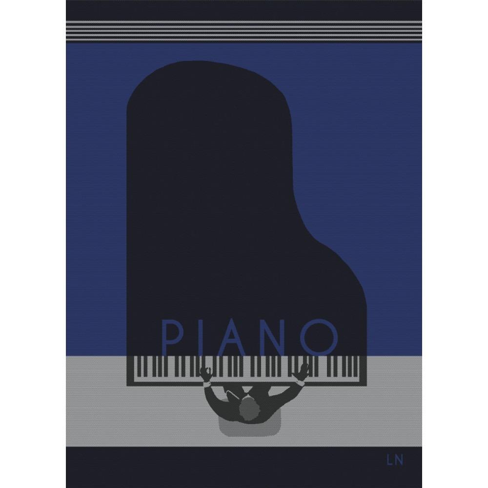 Moutet Tea Towel Piano