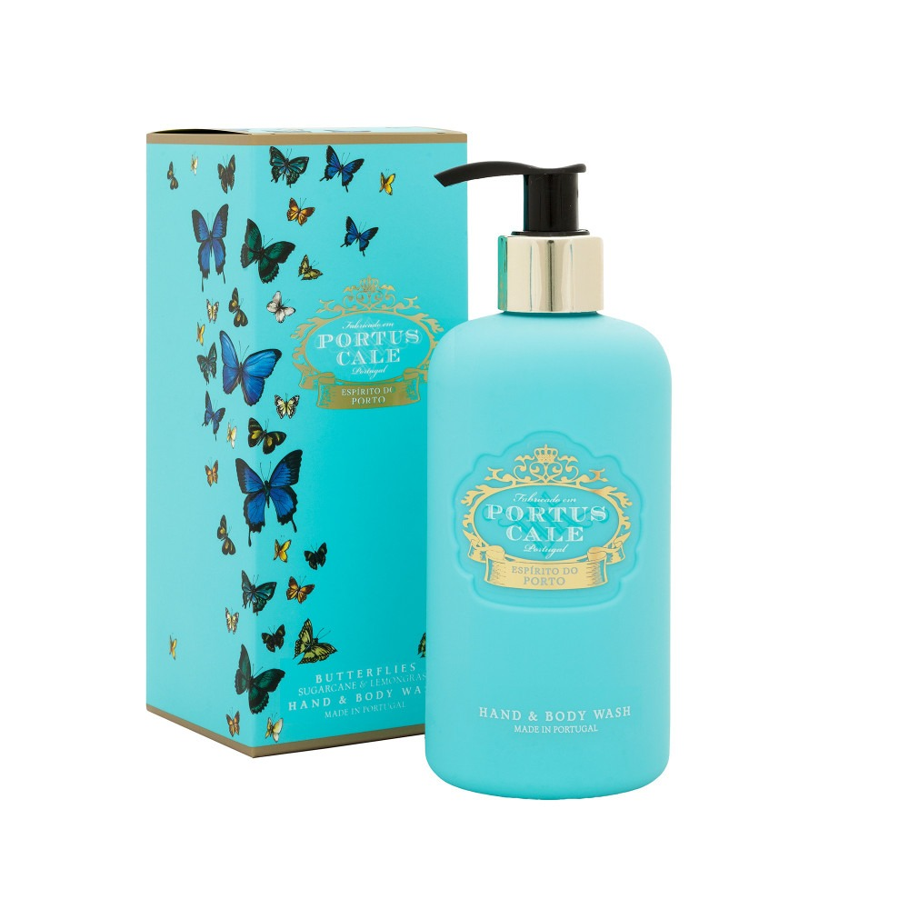 Portus Cale Butterfly Hand And Body Wash 300ml
