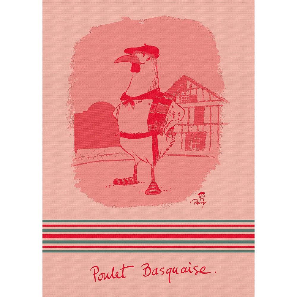 Moutet Tea Towel Poulet Basquaise