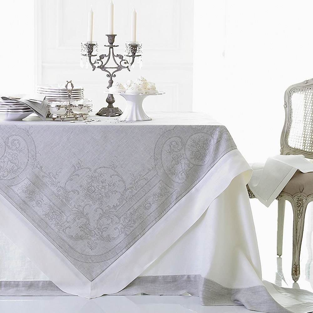 Pure Linen Tablecloths And Napkins
