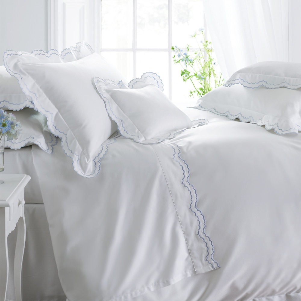 Blue Rosa Kingsize Duvet Cover