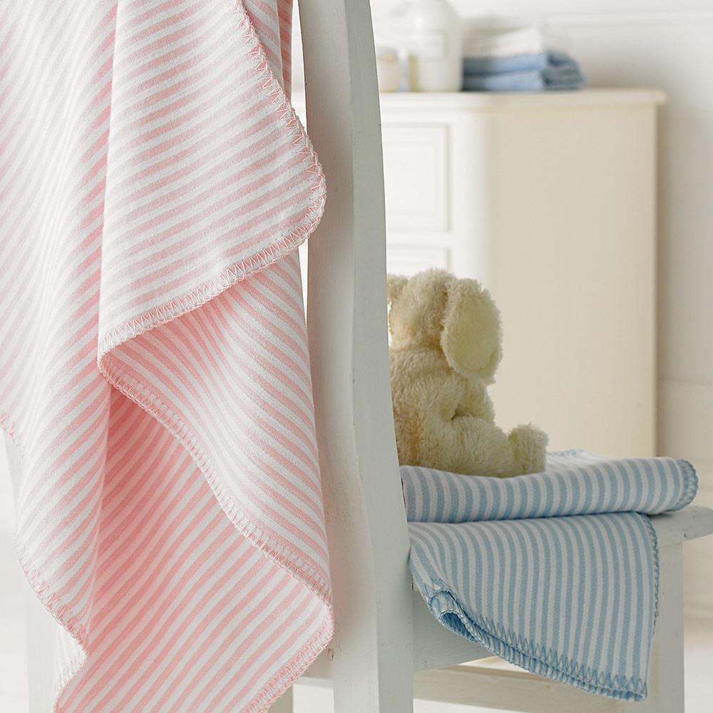 Stripey Baby Blankets