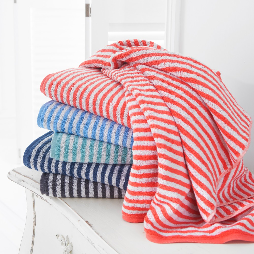 Striped Bathroom Towels