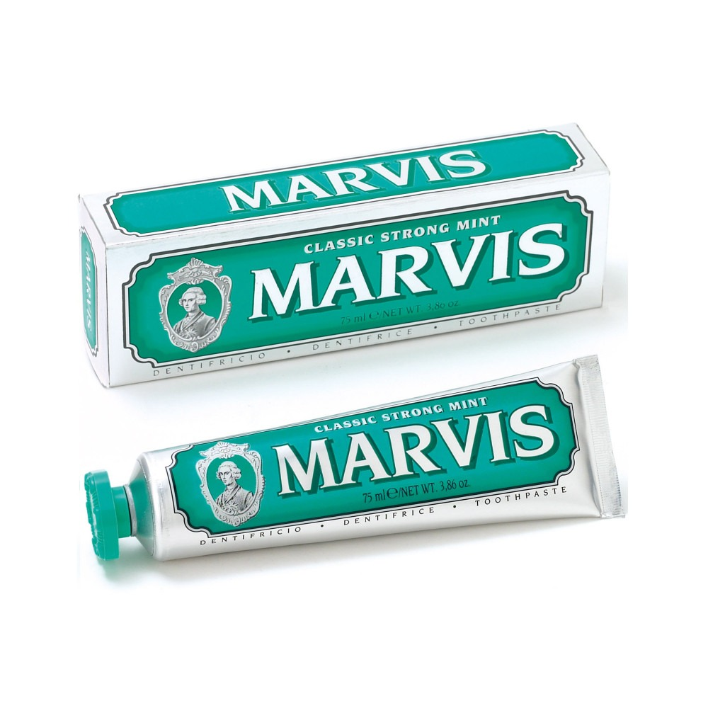 Marvis toothpaste classic strong mint 75 ml