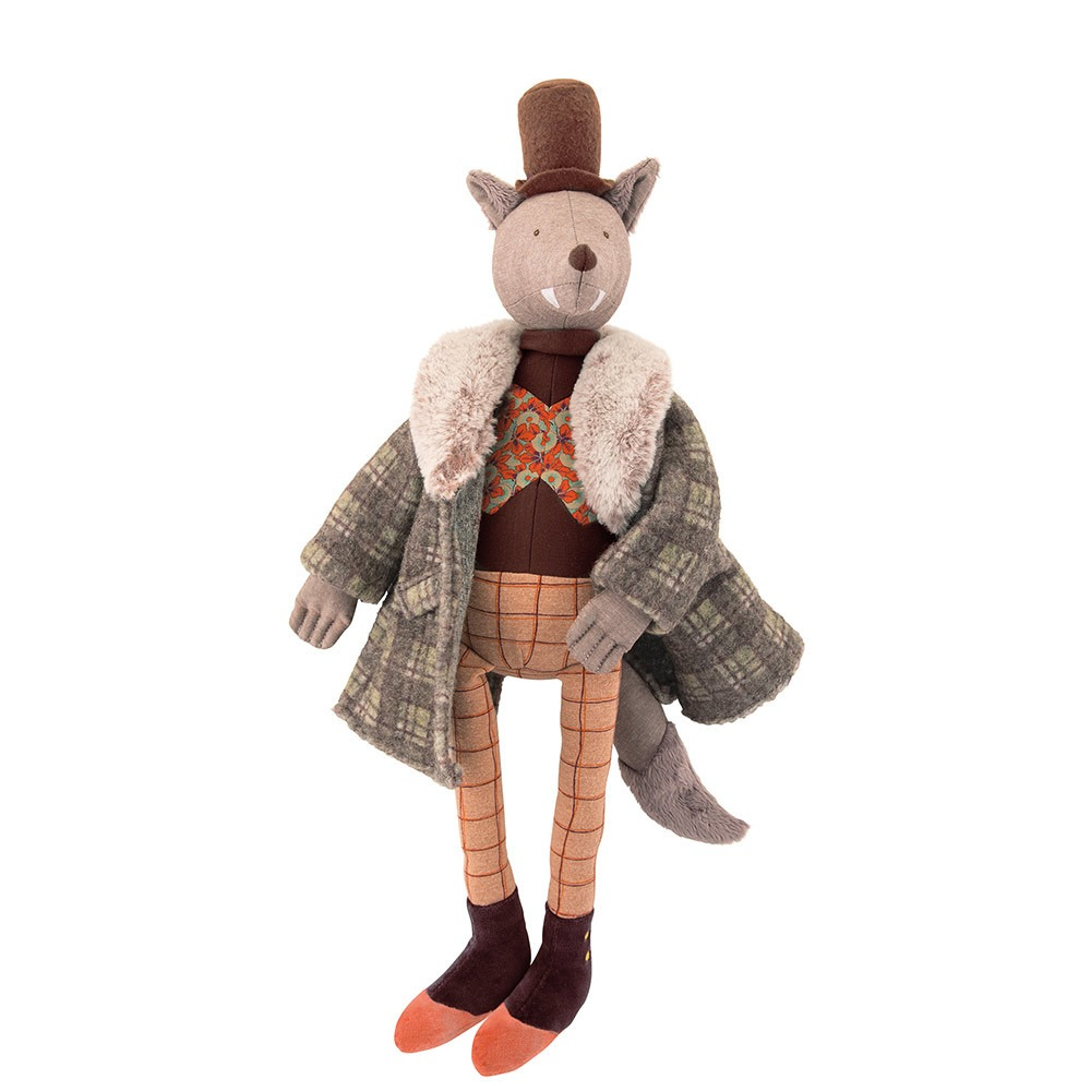Moulin Roty The Gentleman Wolf Soft Toy