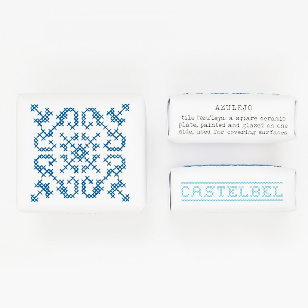 Castelbel Embroidery Soap Tile