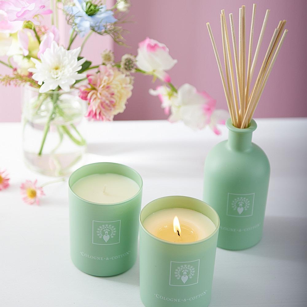 Cologne & Cotton Candles