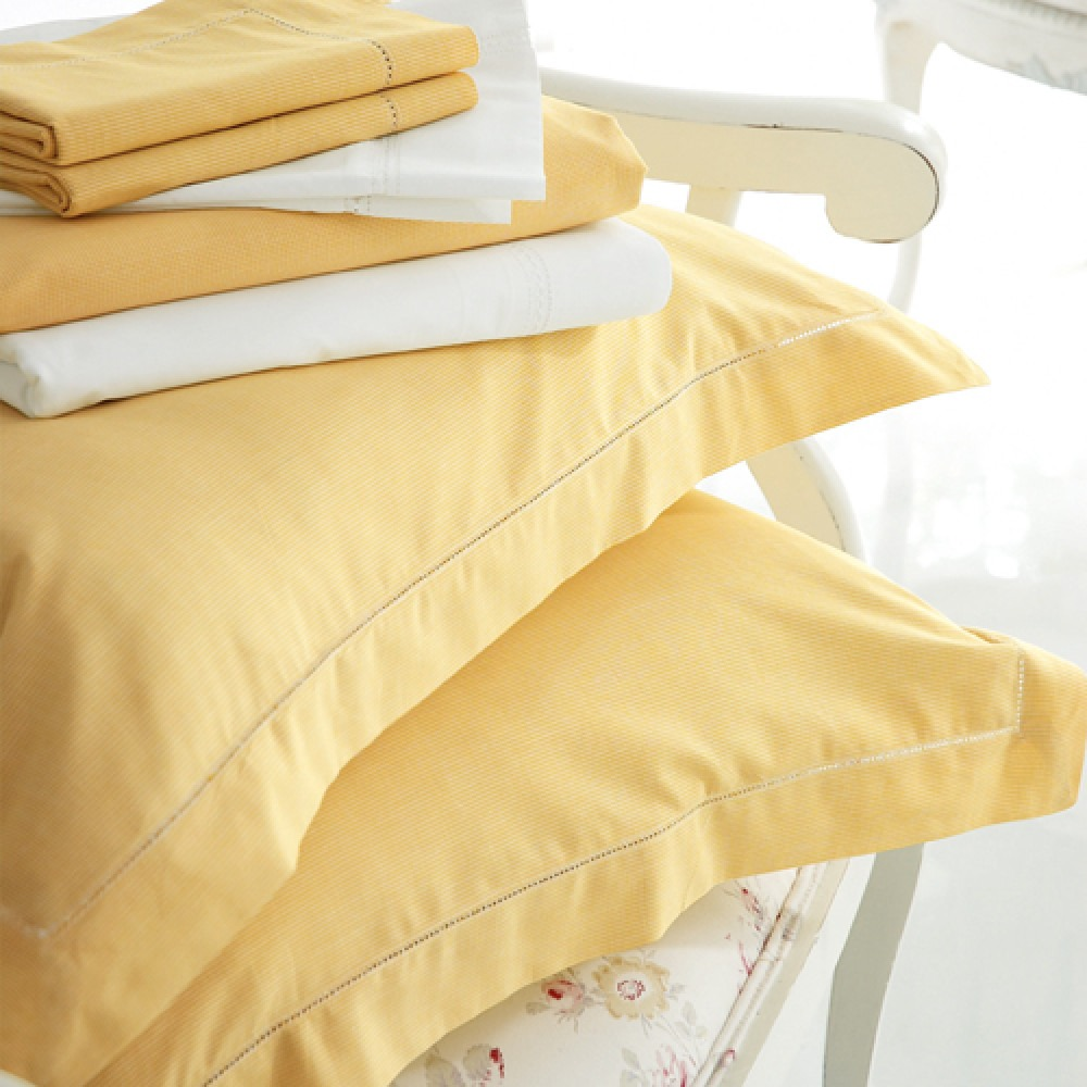 Children's Yellow Dogtooth Bedlinen