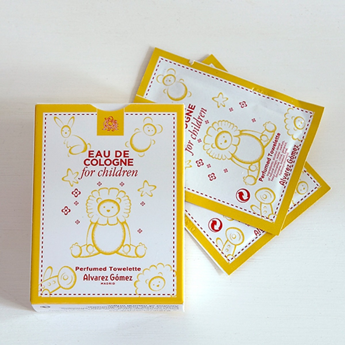 Alvarez Gomez childrens perfumed towelette x 10