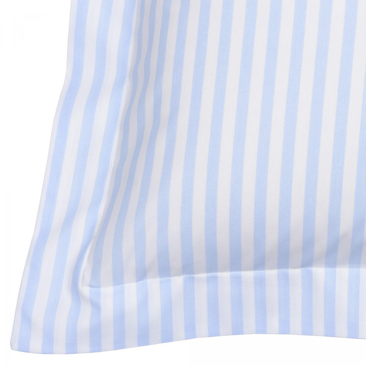 Children's Blue Candy Stripe Bedlinen