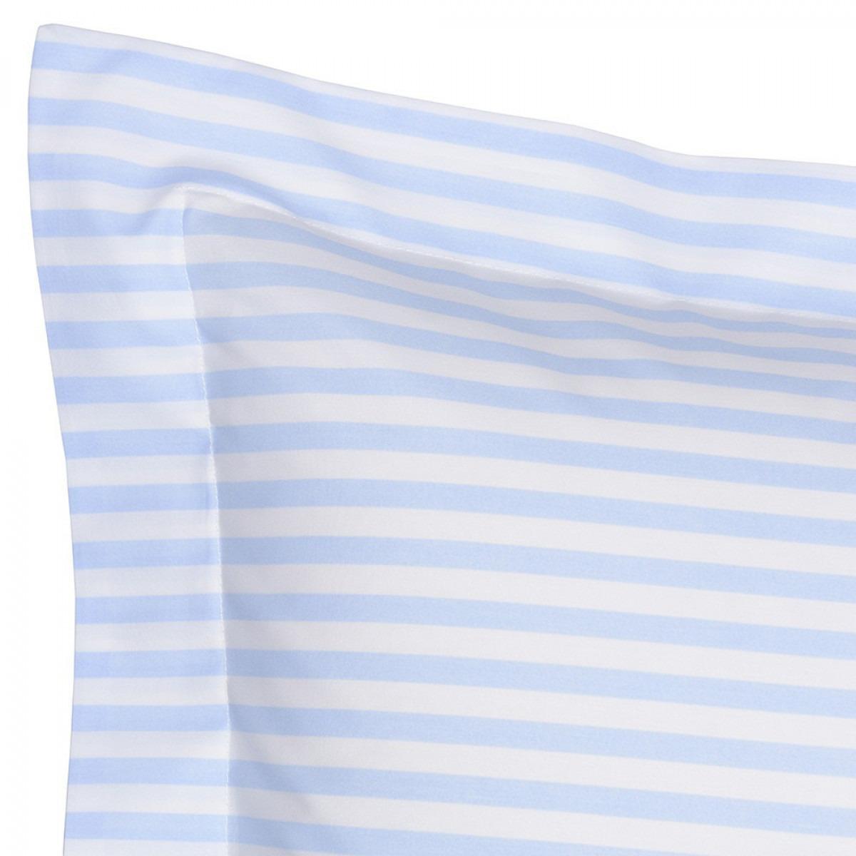 Blue Candy Stripe Bedlinen