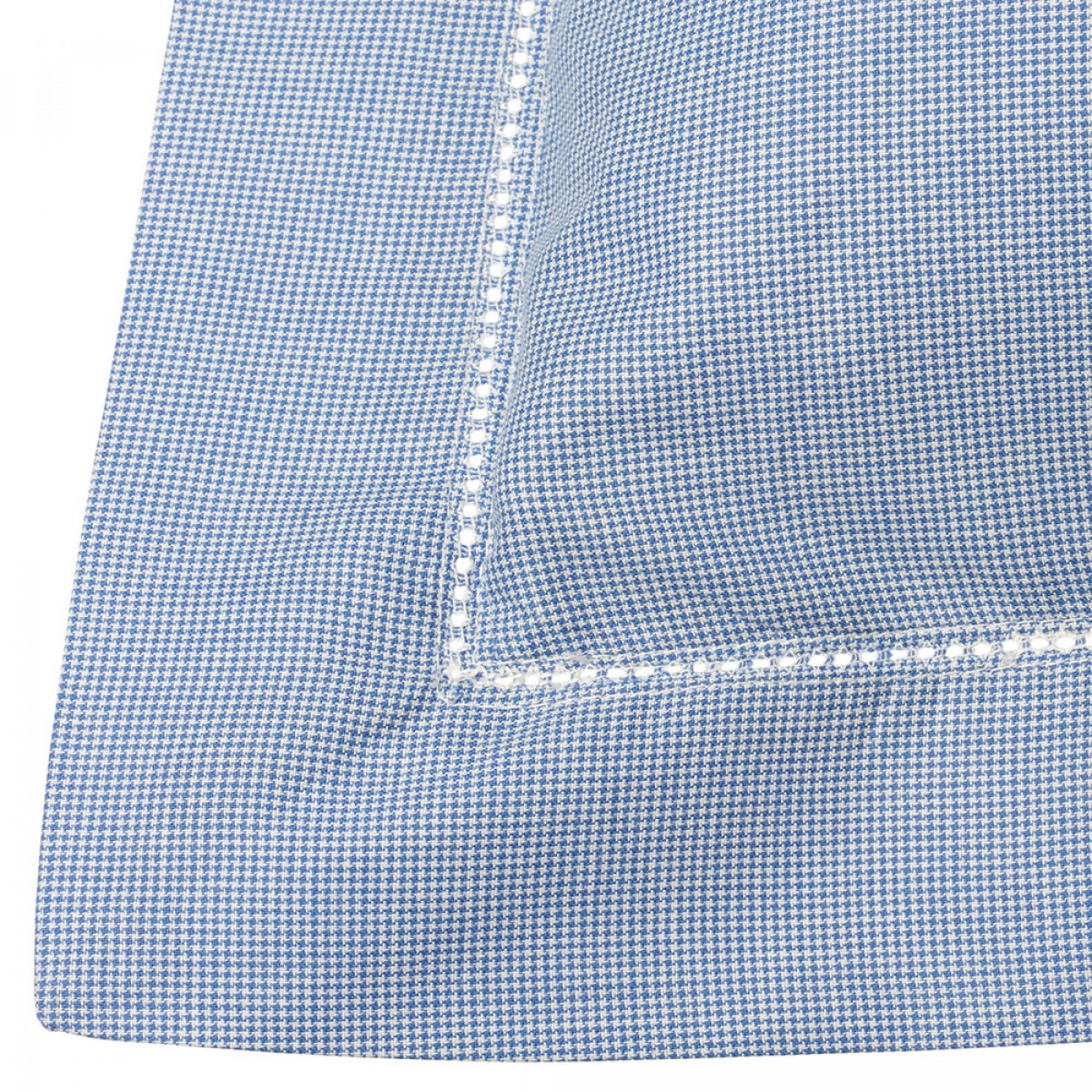 Blue Dogtooth Standard Oxford Pillowcase