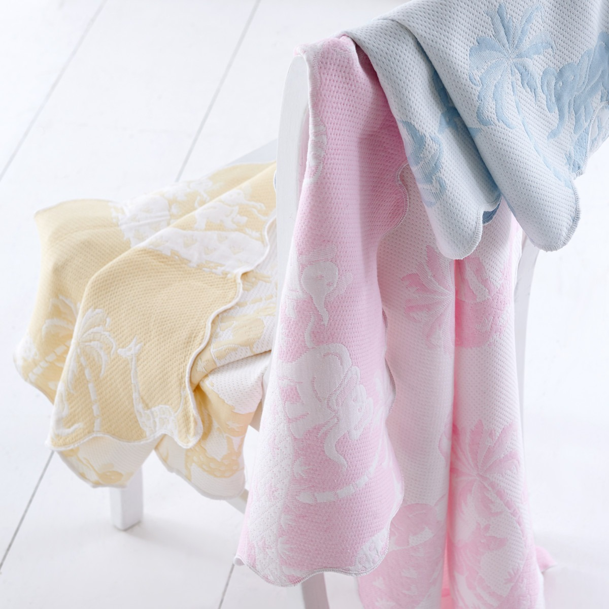 Woven Cotton Cot Covers