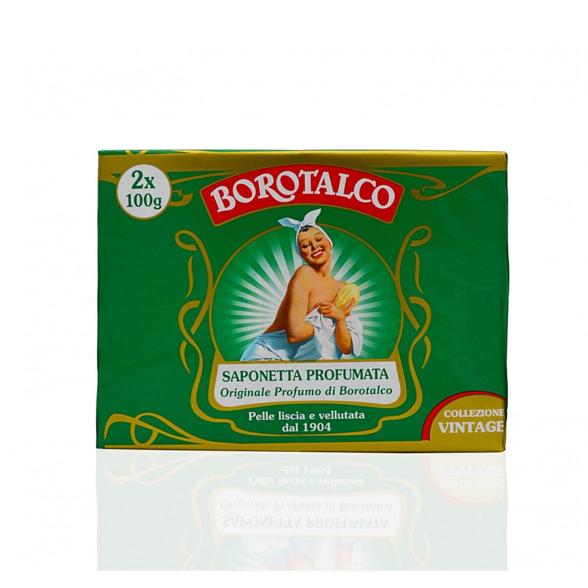 Borotalco Talc 2 x 100g Soap Bars