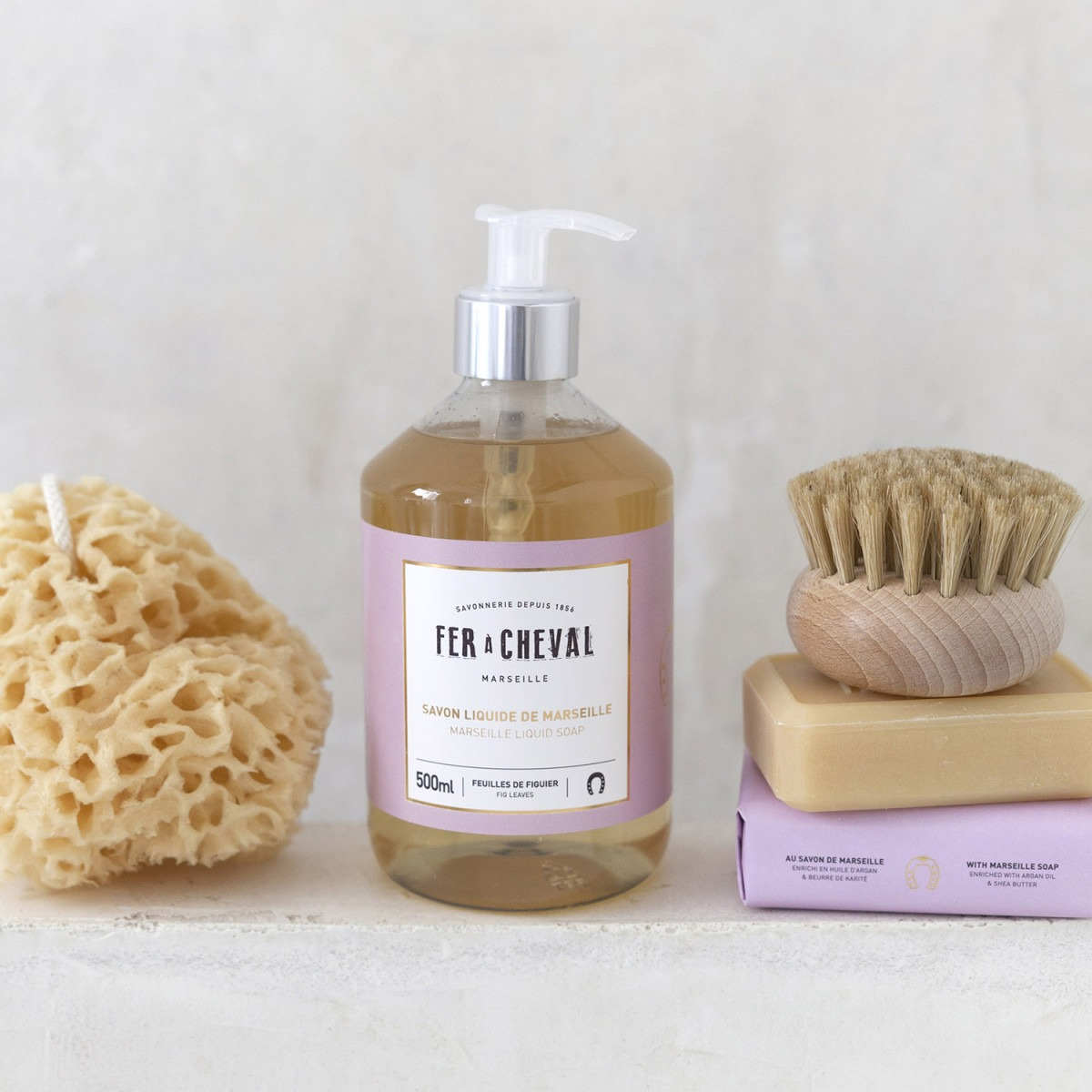 Fer A Cheval Fig Leaves Marseille Liquid Soap