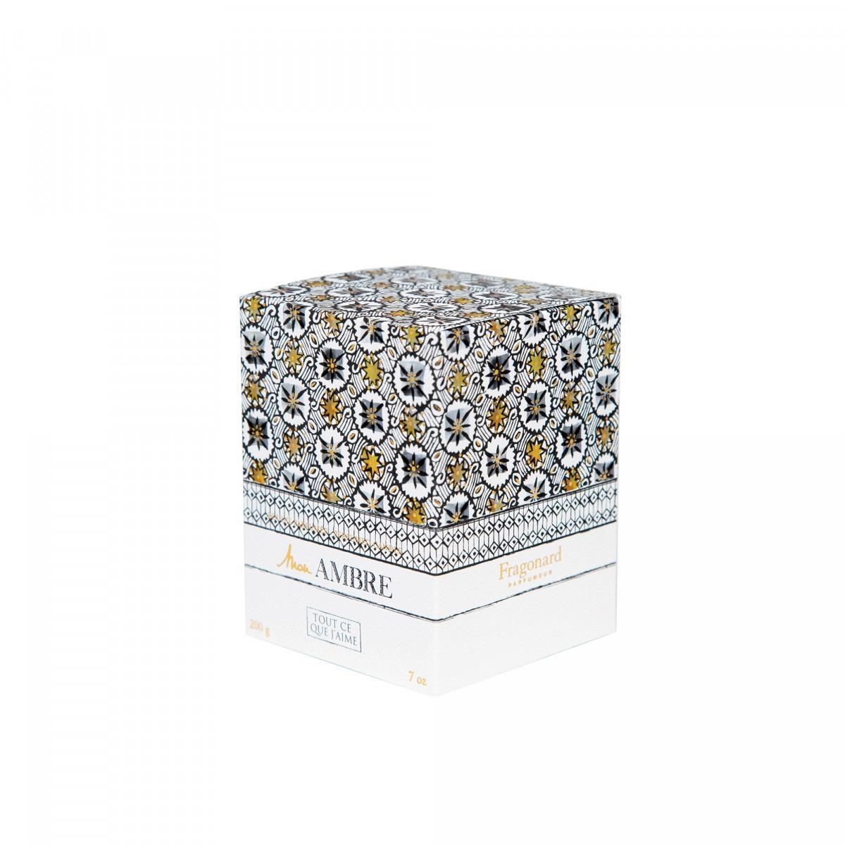 Fragonard Tout Ce Que J'aime Candle 200G – Mon Ambre