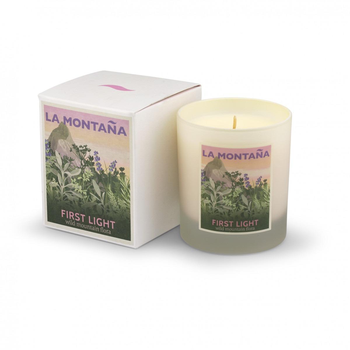 La Montaña First Light Candle