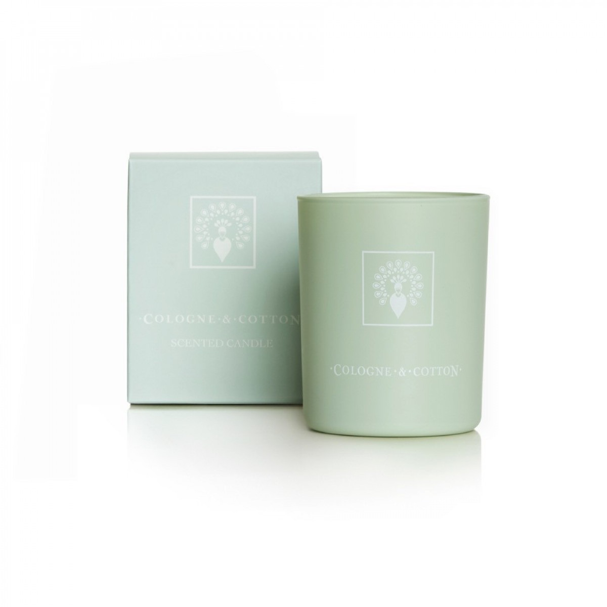 Cologne & Cotton Candle Velvet Rose And Oud 180g