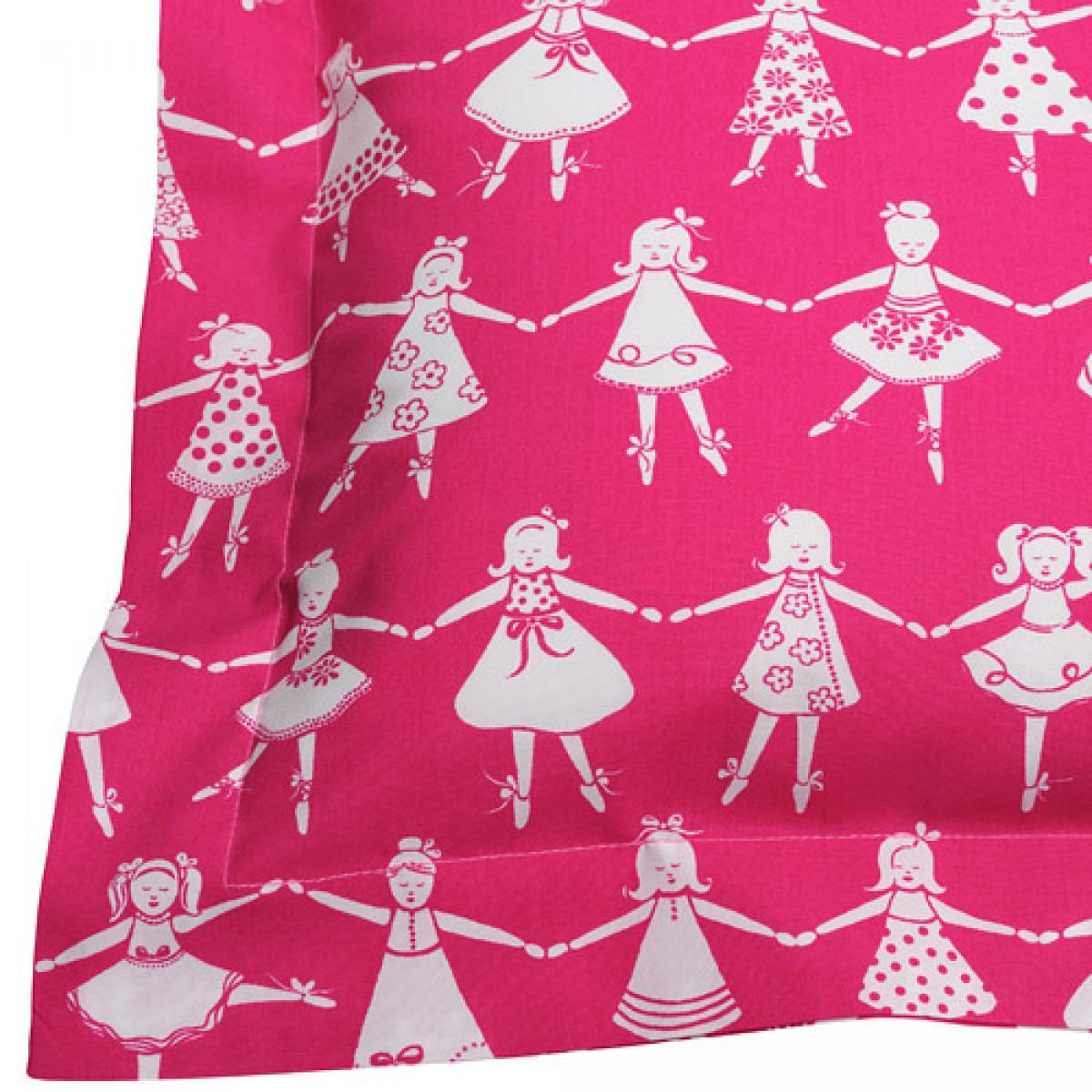 Pink Dancers Printed Children's Bedlinen