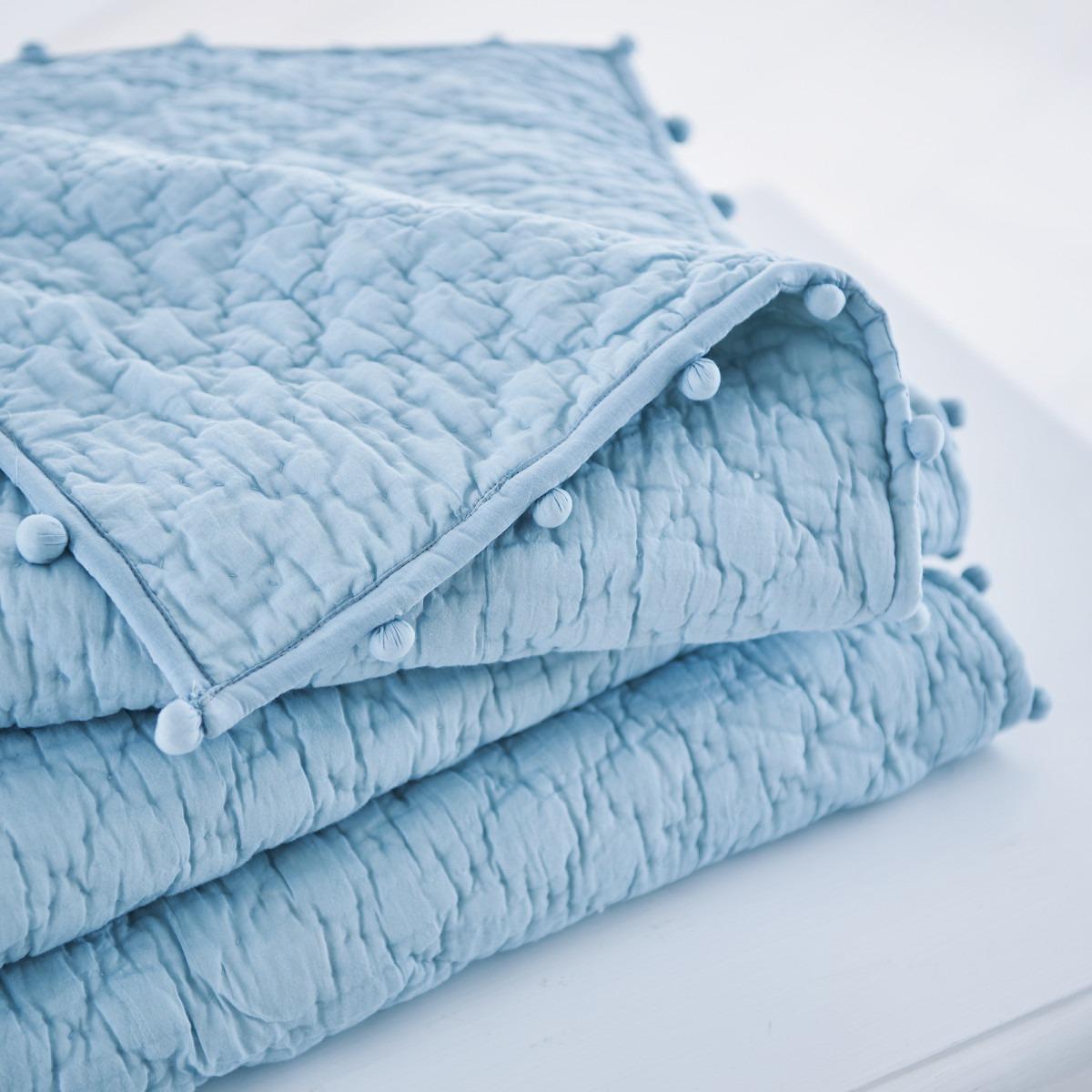 Pom Pom Quilts Aqua