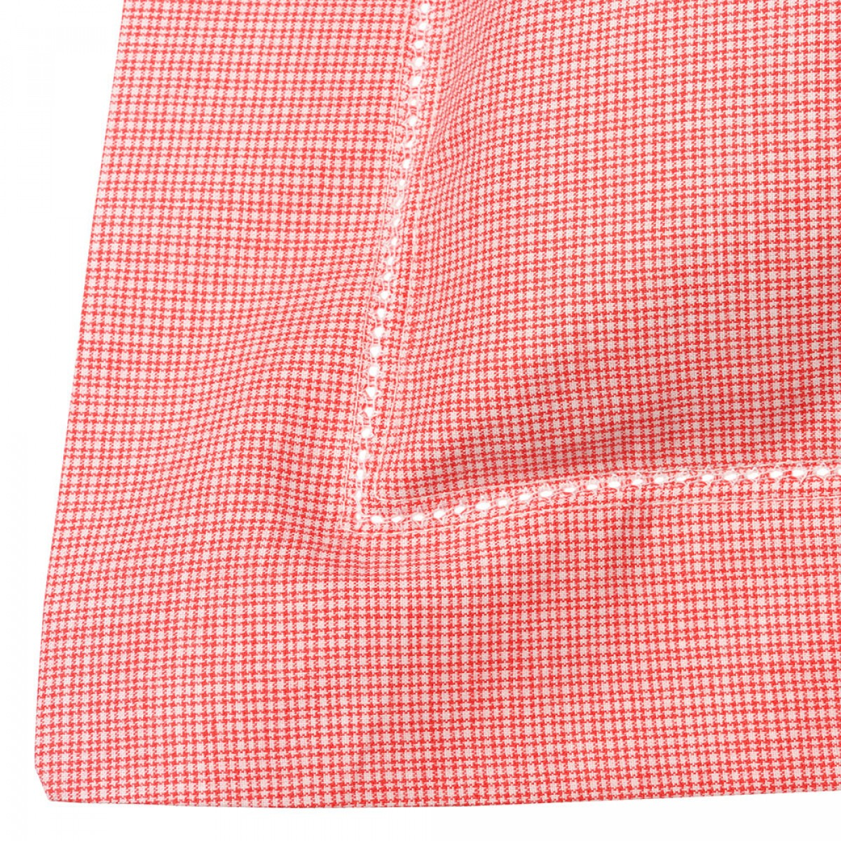 Red and White Check Pillowcase