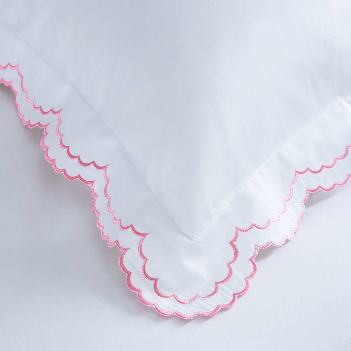 Rosa Embroidered Cotton Bedlinen