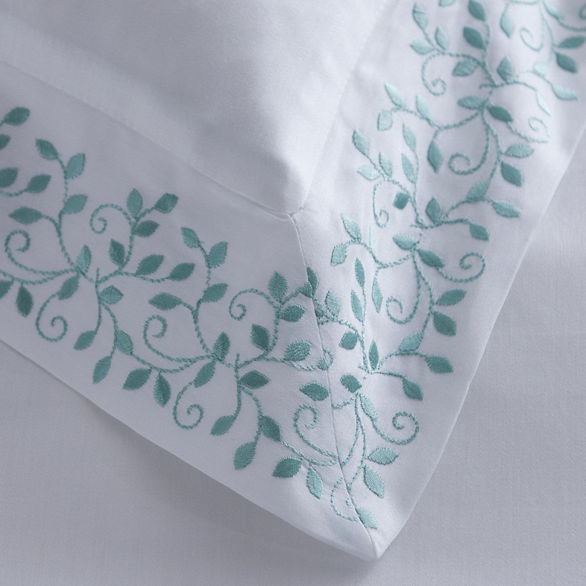 Soft Green Fleur Bedlinen
