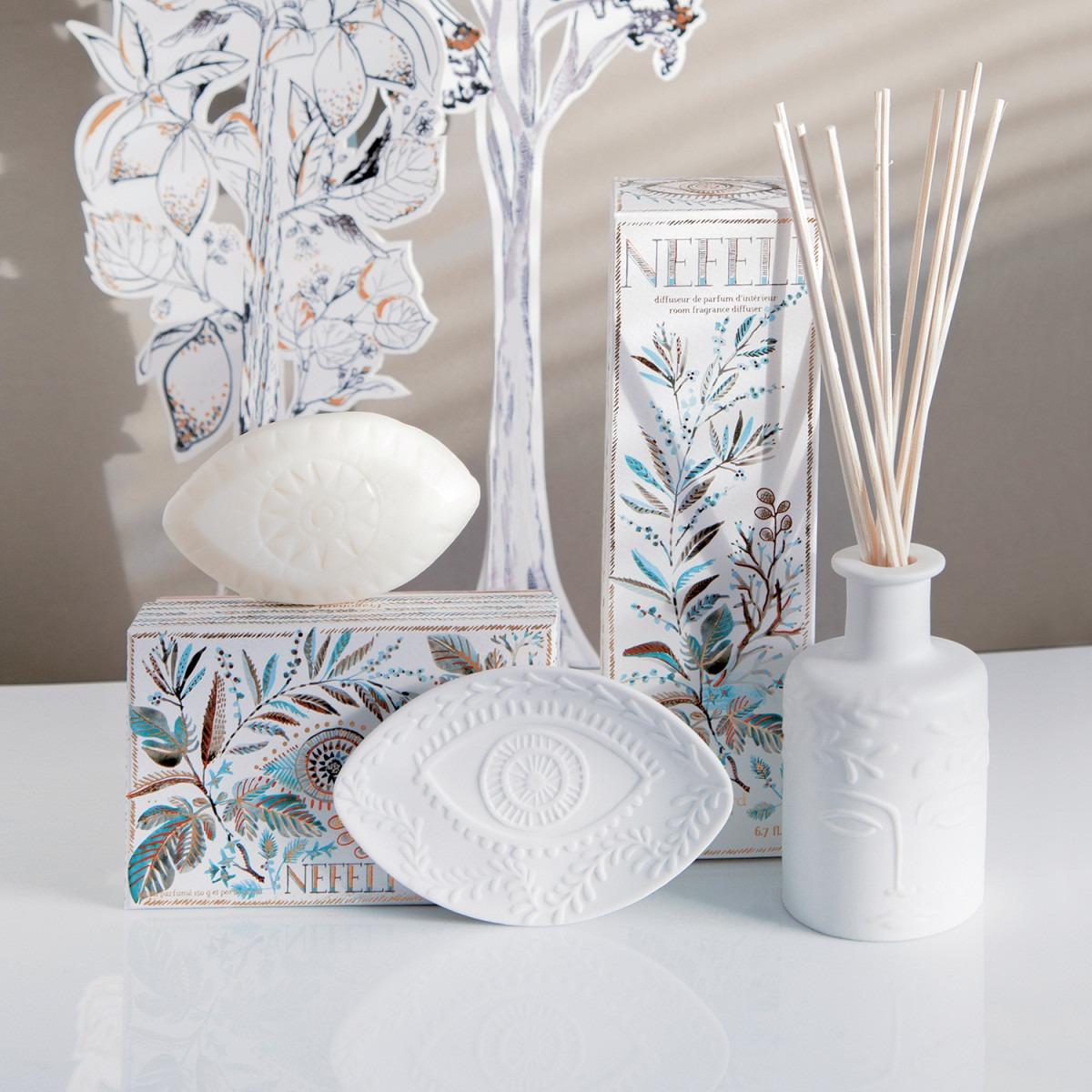 Fragonard Nefeli Soap & Soap Dish Set