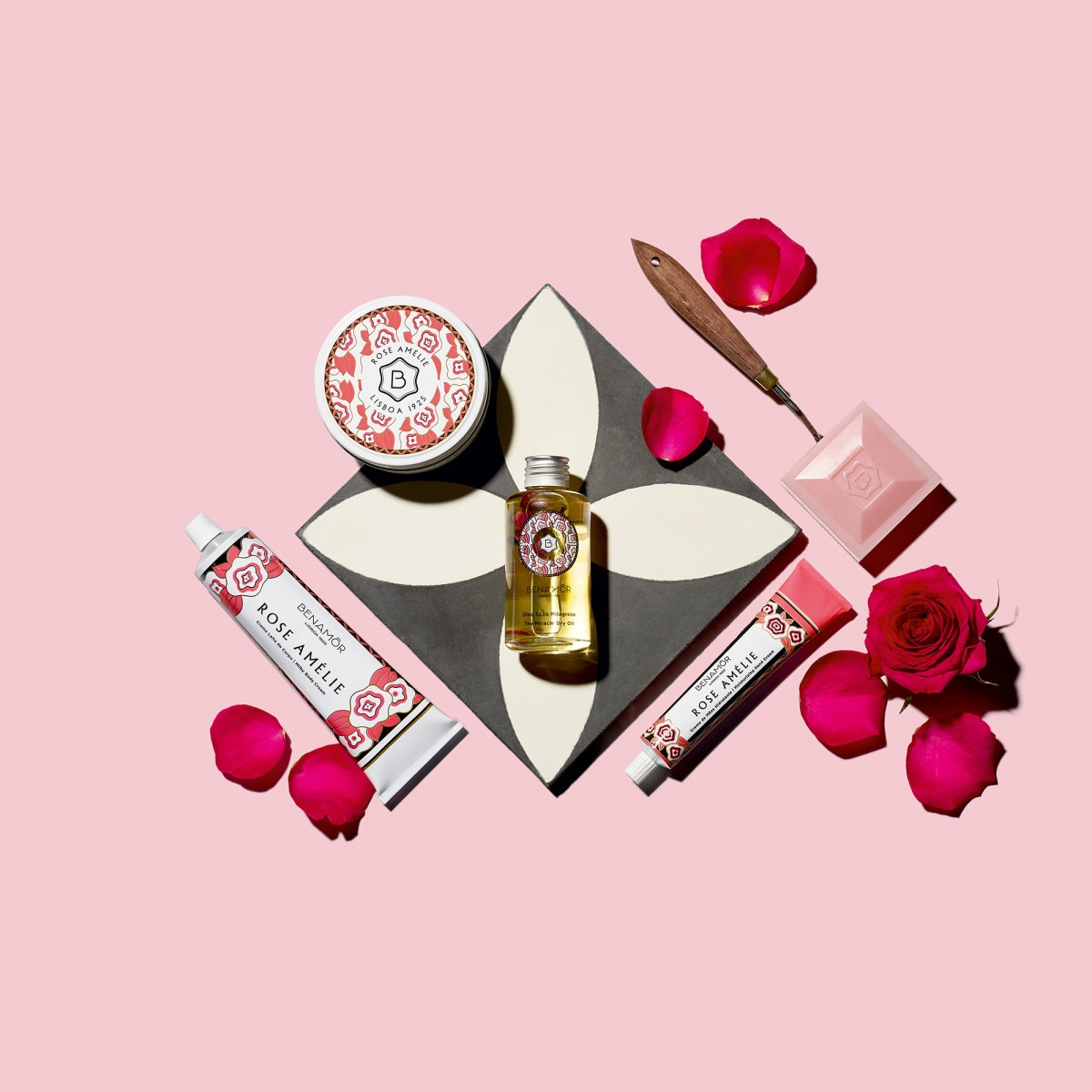 Benamôr Rose Amelie Deluxe Shower Cream 500ml