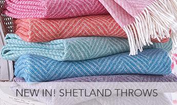 Shetland Throws