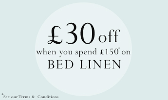 £30 Off When You Spend £150 On Bed Linen