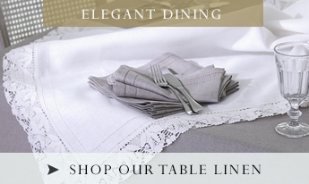 Shop Our Table Linen