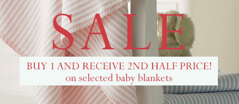Buy One Get One Half Price Baby Blankets